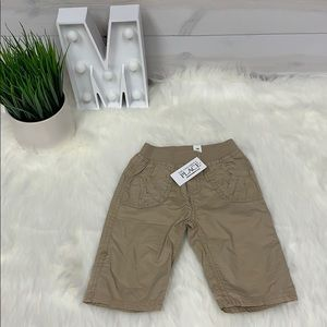 The Child's Place Tan Cargo Pants Sz 3-6 month